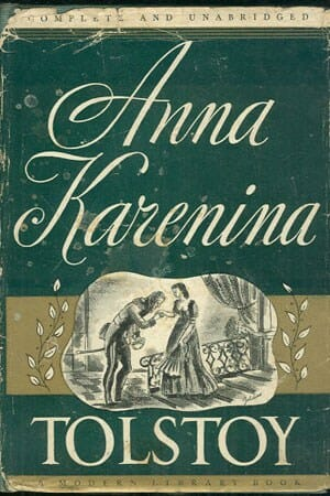 Anna Karenina by Leo Tolstoy english easy reader pre-intermediates