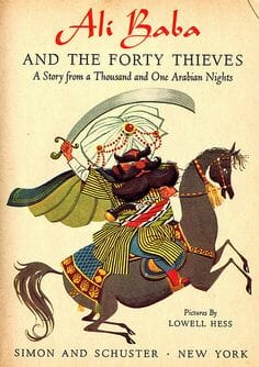 Ali Baba and the Forty Thieves by Antoine Galland english easy reader beginners