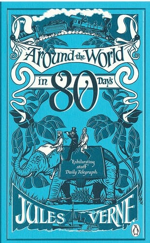 Around the World in 80 Days by Jules Verne english easy reader pre-intermediates