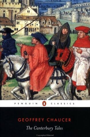 geoffrey chaucer canterbury tales english easy reader beginners