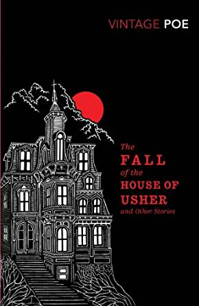 The Fall of the House of Usher by Edgar Allan Poe easy reader english beginners