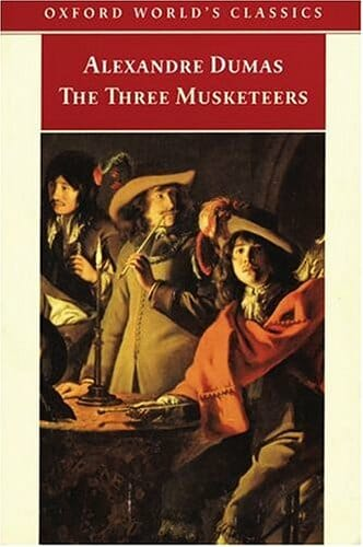 The Three Musketeers by Alexandre Dumas english easy reader intermediates